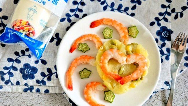 #一起土豆沙拉吧#虾仁土豆泥沙拉的做法