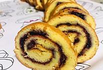 超美味的蓝莓蛋糕卷的做法