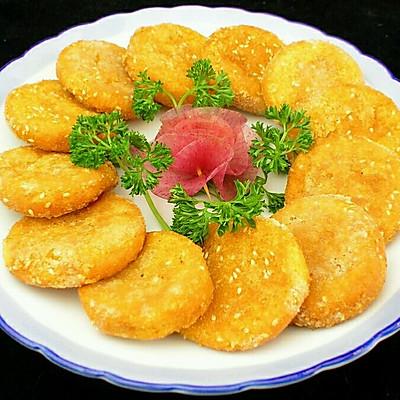 南瓜饼(烤箱版)