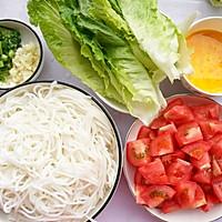 #童年不同樣,美食有花樣#超好吃的番茄雞蛋米粉的做法圖解1