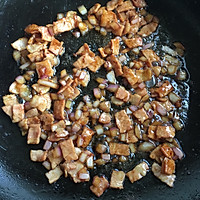 饭菜合一的营养低卡简餐-培根炒饭的做法图解5