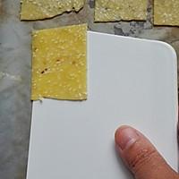 芝麻薄片饼干#甜蜜厨神#的做法图解9