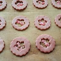 草莓玻璃心饼干的做法图解10