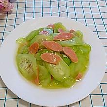 黄瓜炒火腿肠(快手菜)