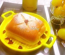 #换着花样吃早餐#云朵般绵软牛奶卷(波兰种)的做法