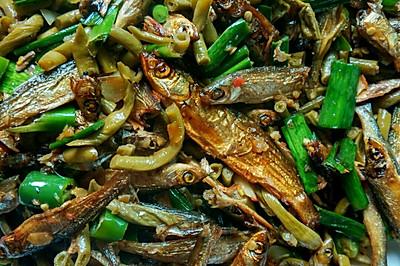 酸豆角熏鱼