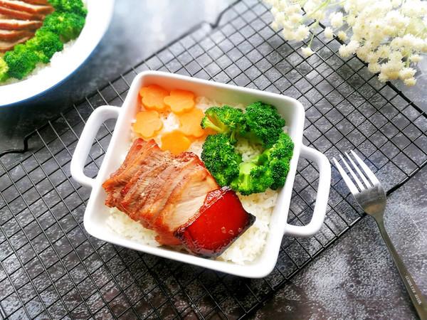 #精品菜谱挑战赛#让人欲罢不能的蜜汁叉烧饭