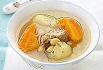 红萝卜马蹄黄豆煲兔肉的做法