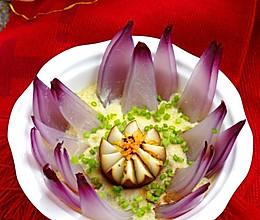 莲花蛋中蛋的做法