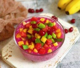 #童年不同样,美食有花样#水果冰粥的做法
