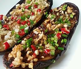 蒜蓉煎茄子,比外面烤茄子美味多了。的做法