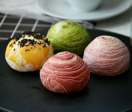 四种饼皮、四种馅料、流心蛋黄酥的做法