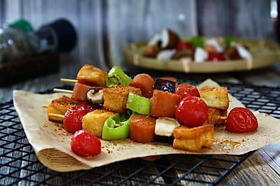 鱼豆腐香肠烤串