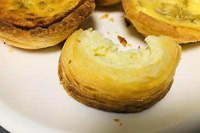 纯纯纯自制蛋挞(蛋挞皮+蛋奶液)