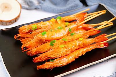 蒜蓉串串虾