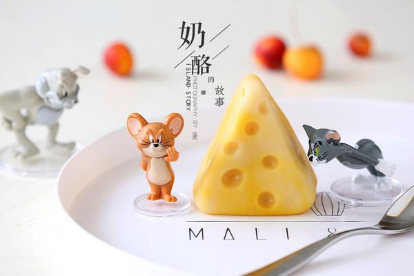 金沙奶黄山药奶酪