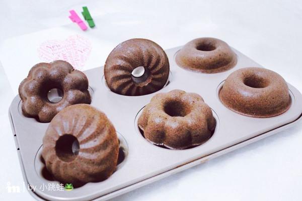 可可甜甜圈的做法