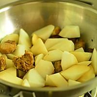 白萝卜炖排骨—冬季暖身的做法图解8