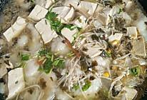 酸菜豆腐龙利鱼汤的做法