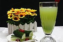 黄瓜蜂蜜汁#豆果魔兽季邪能饮料#的做法