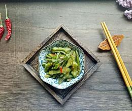 开胃辣椒刀豆#夏日下饭菜#的做法