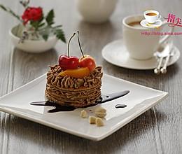 水果咖啡蛋糕#松下烘焙魔法学院#的做法