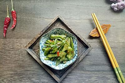开胃辣椒刀豆#夏日下饭菜#