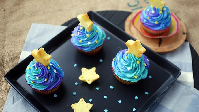 梵高的星空cupcake老板R015烤箱试用