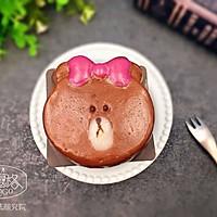 """【美食魔法】布朗熊&Choco妹妹冰皮月饼#享""""美""""味#"""