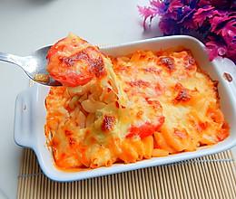 西红柿焗意面的做法