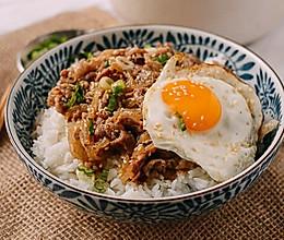 简单朴素的幸福时光 | 日式肥牛饭(牛丼饭)的做法