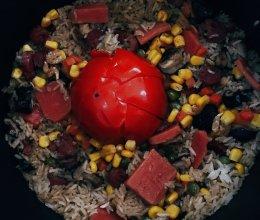 超级好吃的独创咸饭 一吃一大锅的做法