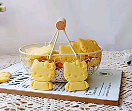 手工DIY‖卡通黄油饼干的做法