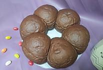 摩卡咖啡小面包【后油后酵母法揉面】的做法
