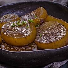 鲍汁萝卜煲,冬季温润的鲜甜味道