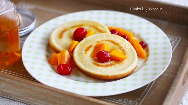 #我们约饭吧#美好的下午茶:柠香松饼的做法