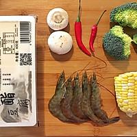 低脂缤纷豆腐虾(适合减肥期间)的做法图解1
