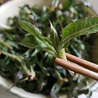 舌尖上的春天2~曲麻菜蘸酱的做法图解2