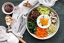 五彩韩式拌饭#520,美食撩动TA的心!#的做法