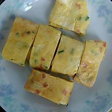 【美味早餐】火腿肠鸡蛋卷