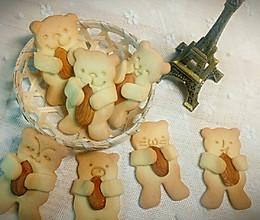 小熊坚果饼干的做法