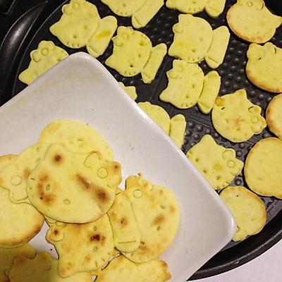电饼铛做黄油饼干