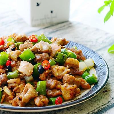 藤椒小炒鸡腿肉-下饭菜