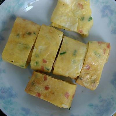 【美味早餐】火腿腸雞蛋卷