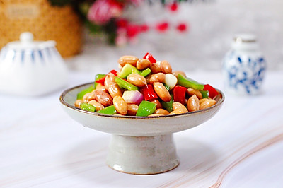 #甜粽VS咸粽,你是哪一黨?#雙椒拌花生米