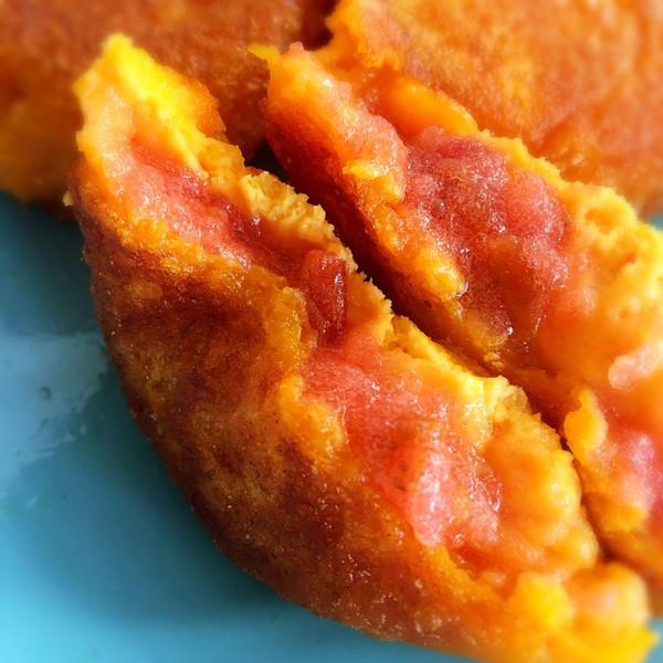 南瓜红果饼的做法