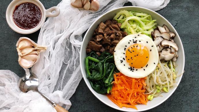 五彩韩式拌饭#520,美食撩动TA的心!#