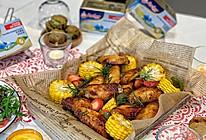 圣诞派对经典小吃:黄油蜜汁鸡翅的做法