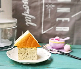 古早味——黑芝麻酸奶蛋糕的做法
