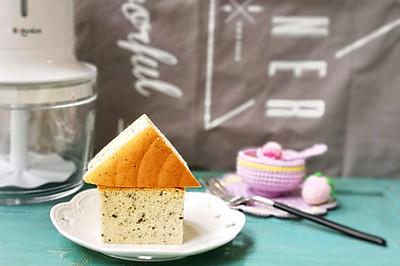 古早味——黑芝麻酸奶蛋糕